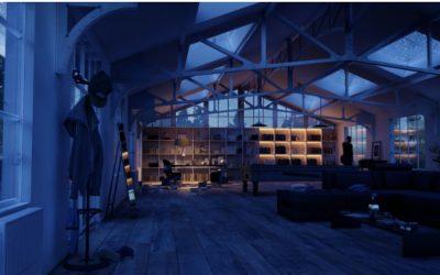 Paso a paso para crear rápidamente un estilo interior nocturno